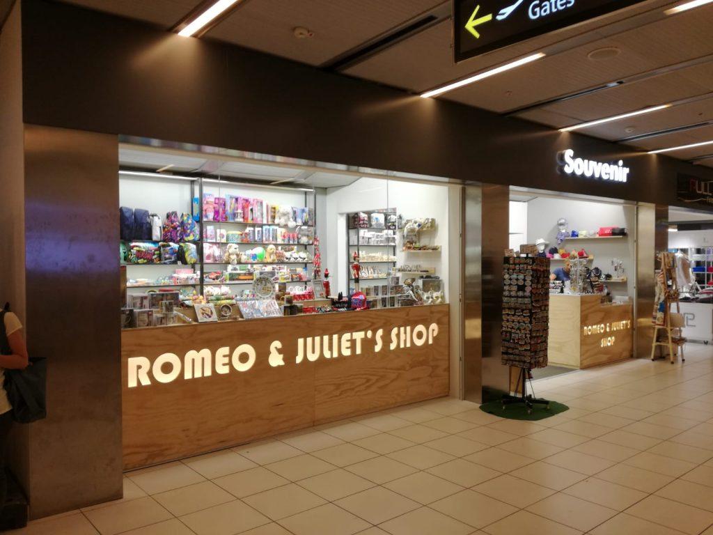 Romeo e Giulietta Legno Aereoporto Verona